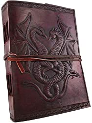 Double Dragon Handcrafted Leather Journal