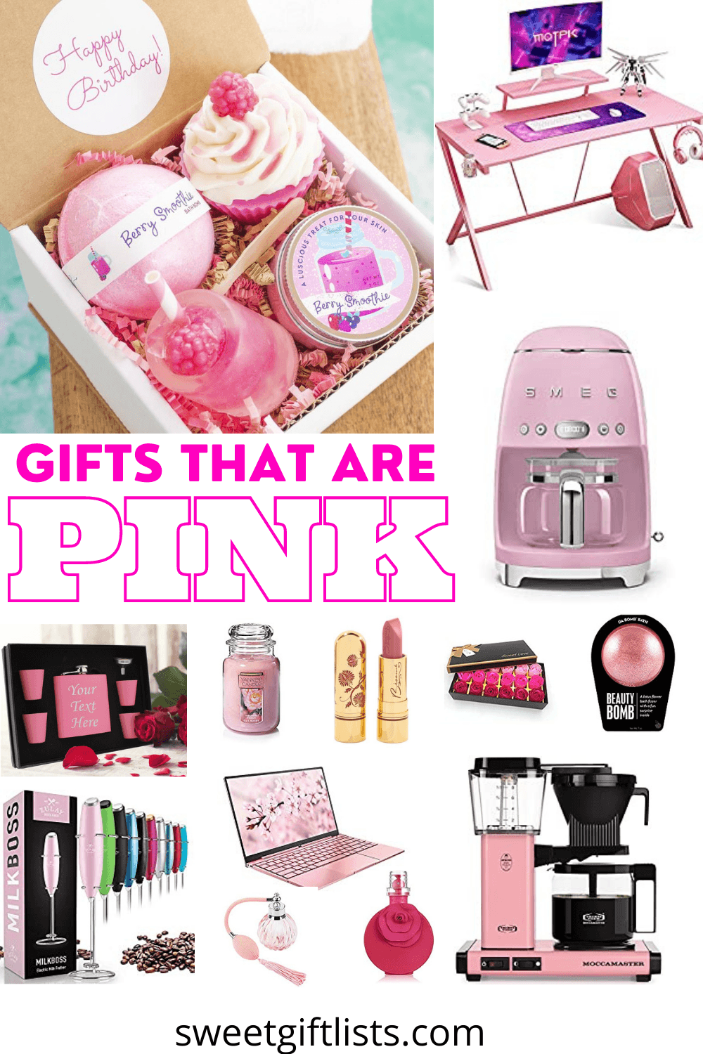 Gifts That Are Pink For Women