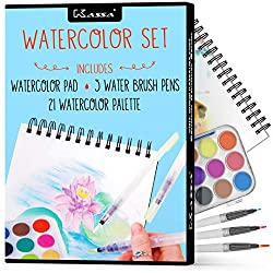 Kassa Watercolor Set - Painting Kit