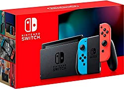 Nintendo Switch Neon Blue and Neon Red