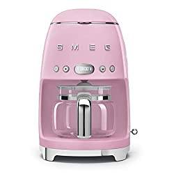 Pink 50's Retro Style Aesthetic Drip Filter Coffee Machine