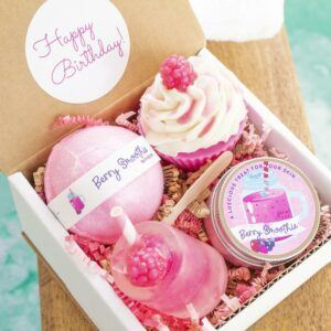 Pink Berry Spa Gift Set For Her