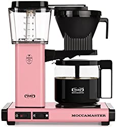 Pink Technivorm Moccamaster 10-Cup Coffee Maker