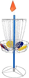 Outdoor games: Portable Metal Disc Frisbee Golf Goal Set