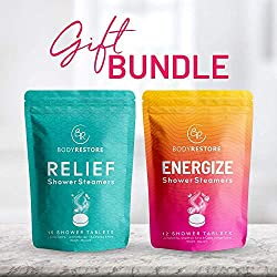 Relief & Energize Shower Steamers Gift Set