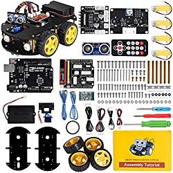 best gifts for teenage boys: Smart Robot Car Kit V 3.0 Plus