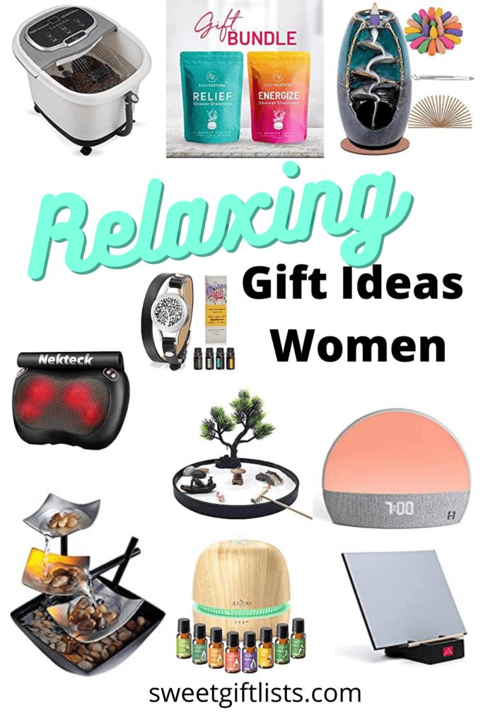Relaxing Gift Ideas Women