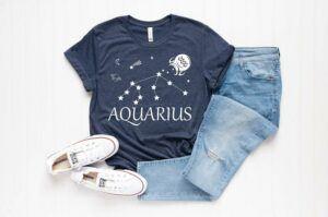 Aquarius Constellation Shirt