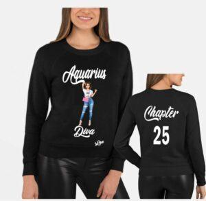Aquarius Diva T Shirt