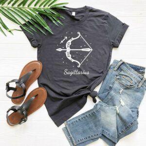 Bow and Arrow Sagittarius T Shirt