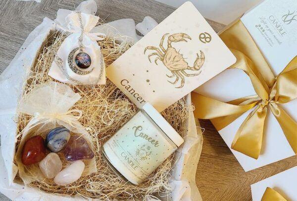 Cancer Horoscope Sign Gift Box