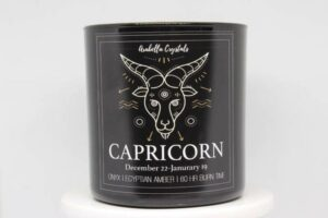 Capricorn Zodiac Candle