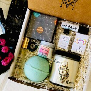Deluxe Taurus Queen Spa Gift Box