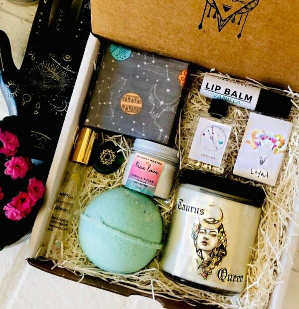 Deluxe Taurus Queen Spa Gift Box