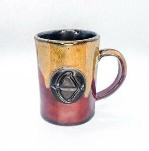 Fire Sign Coffee Mug