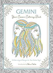 Gemini: Your Cosmic Coloring Book