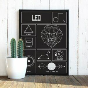 Leo Wall Decor