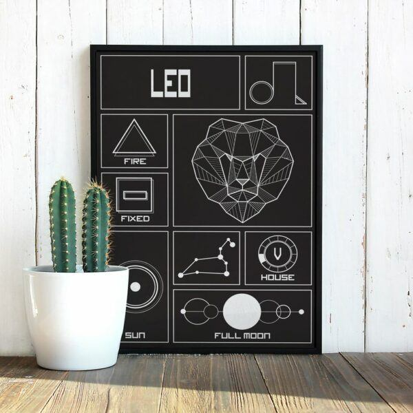 Leo Wall Decor