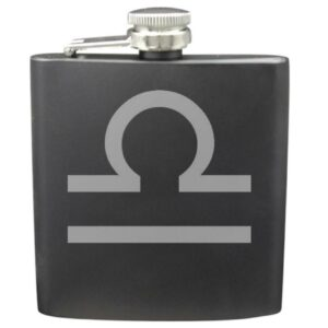 Libra 6 Ounce Flask Set