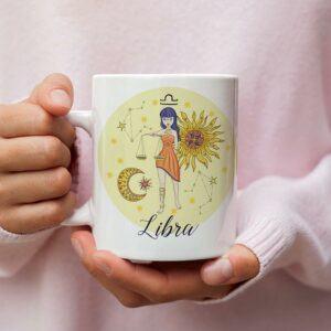 Libra Design Mug