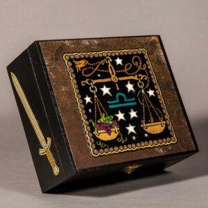 Libra Zodiac Box The Scales
