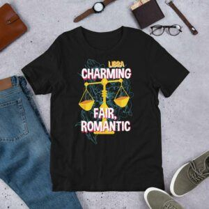 Libra horoscope Short-Sleeve Unisex T-Shirt