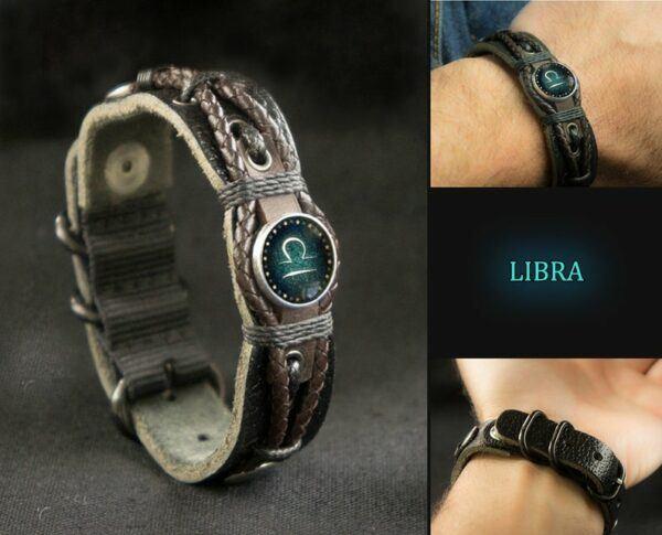 Men's Libra Bracelet