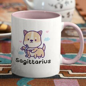 Sagittarius Archer Puppy Coffee Mug