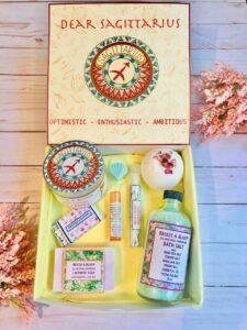 Sagittarius Spa Gift Box