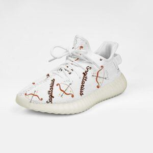 Sagittarius Yeezy Boost 350 V2 Breathable Sneakers Lightweight Running Shoes