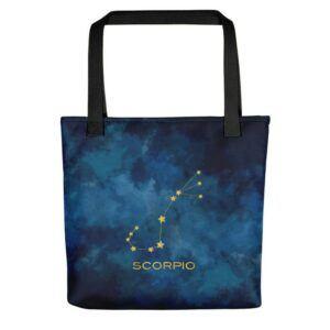 Scorpio Constellation Tote bag