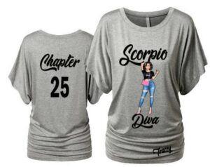 Scorpio Diva T Shirt