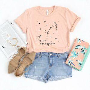 Scorpio Star Constellation T Shirt