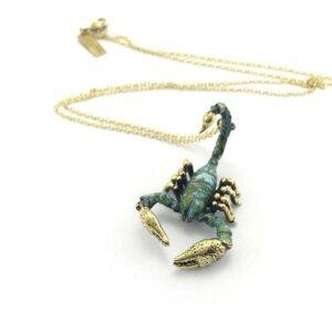 Scorpion Pendent Necklace