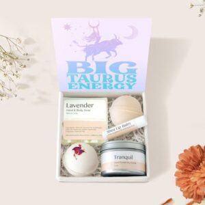 Taurus Zodiac Gift Box Set