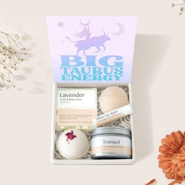 Taurus Zodiac Gift Box Set