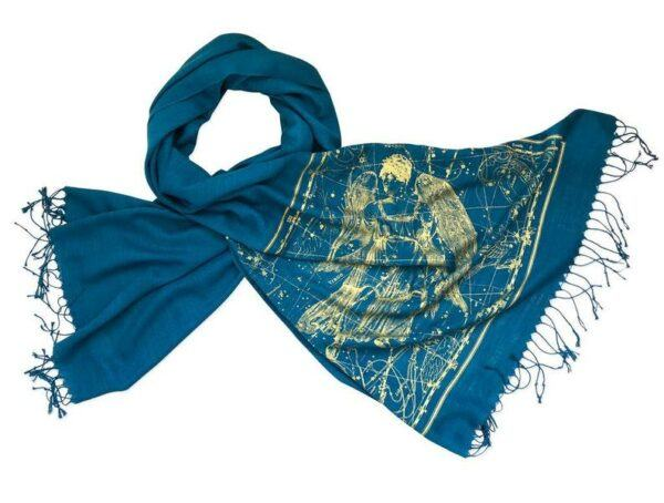 Virgo Star Map Scarf