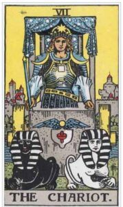 Cancer Star Sign Gifts: Tarot Card: The Chariot