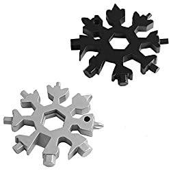 2 Pcs Snowflake Multi-Tool