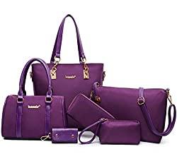 6 Pcs Handbag Set