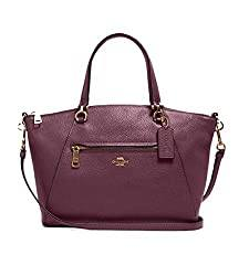 Coach Women's Prairie Satchel Crossbody