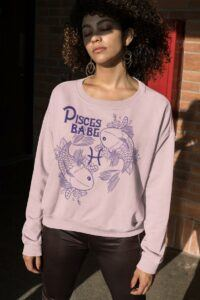 Pisces Babe Sweater
