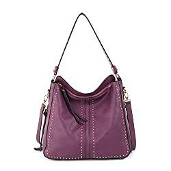 Purple Hobo Bag By Montana West