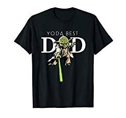 Star Wars Yoda Best Dad Father's Day T-Shirt